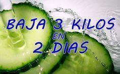 Esta Dieta muy Sencilla te hará Bajar 3 Kilos en 2 Días.