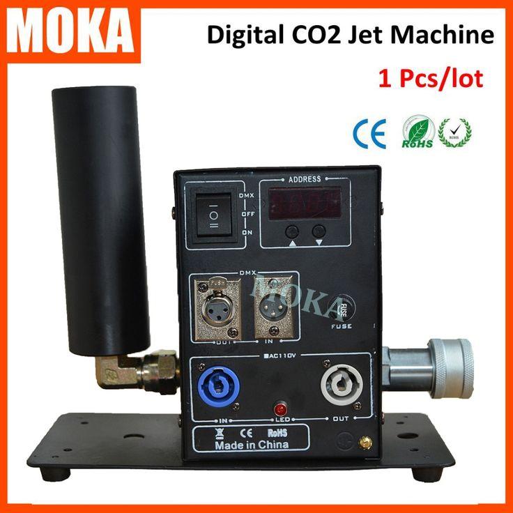 1 Pcs digital Single Pipe CO2 Machine Jet  Stage Effect Co2 Jet Machine Cryo Can…