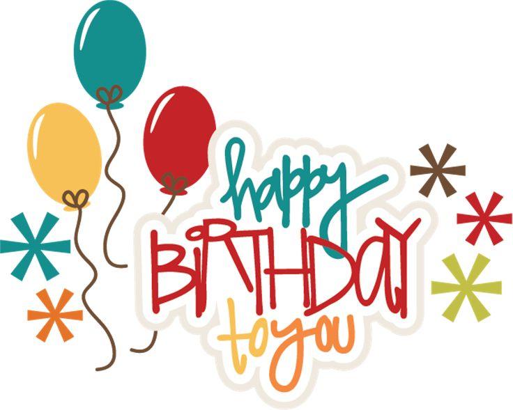 Happy Birthday To You SVG Birthday Cake Svg File Birthday Girl Svg File Svg  Files For Scrapbooking