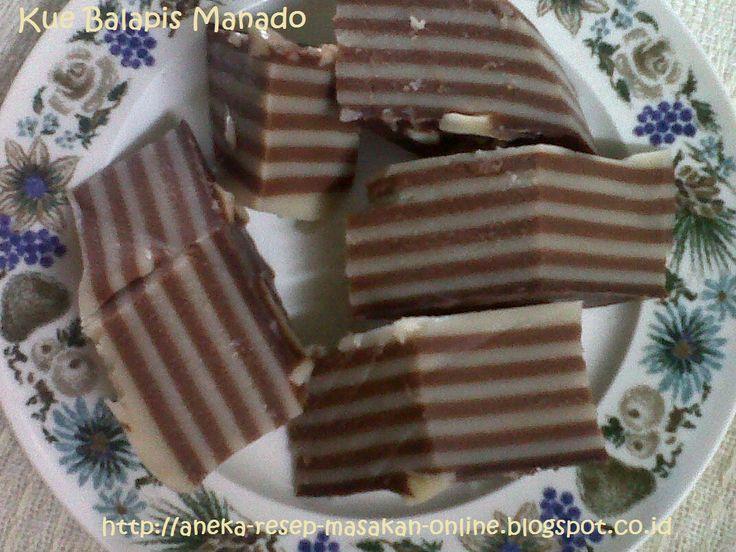 BALAPIS - kue khas Manado  Yuk simak resepnya http://aneka-resep-masakan-online.blogspot.co.id/2015/05/resep-kue-balapis-manado.html