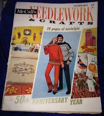 MAGAZINE-McCalls-Needlework-Crafts-Winter-fall-1969-70-50th-Anniversary