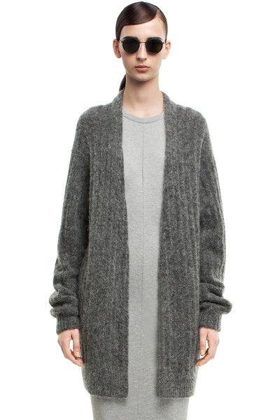Acne Studios Raya short rib grey - The Fashion
