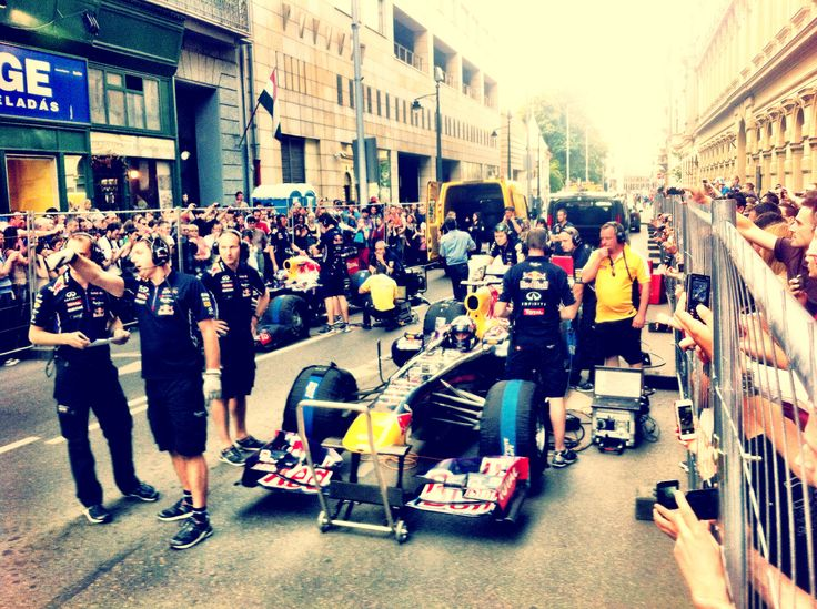 The Glory of Red Bull Racing... Budapest, May 2014