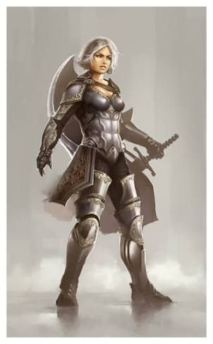 24 best images about female paladin on Pinterest | Roaches ...