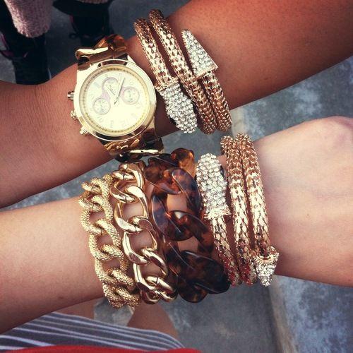 Gold Snake Wrap Bracelet | @t+j Designs