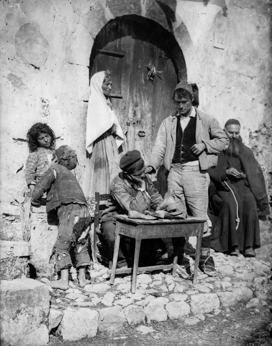 Famiglia di popolani siciliani 1895 ca. Gloeden, Wilhelm Von Raccolte Museali…