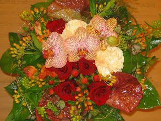 Blomstersmia: Høst buketter