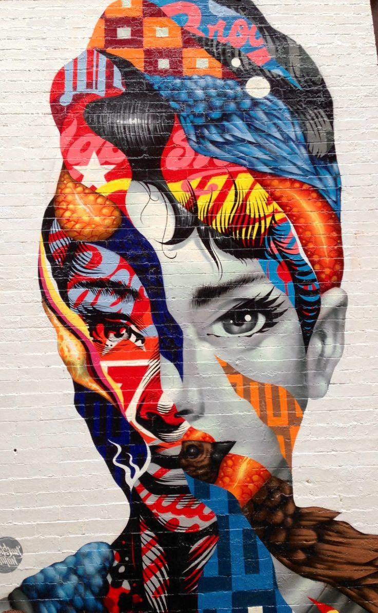 Street art nyc wall art mural art street amazing for Exterior mural painting