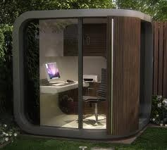 Nice It Would Be Nice To Have A Garden Office In Backyard Or Lawn. The Recent