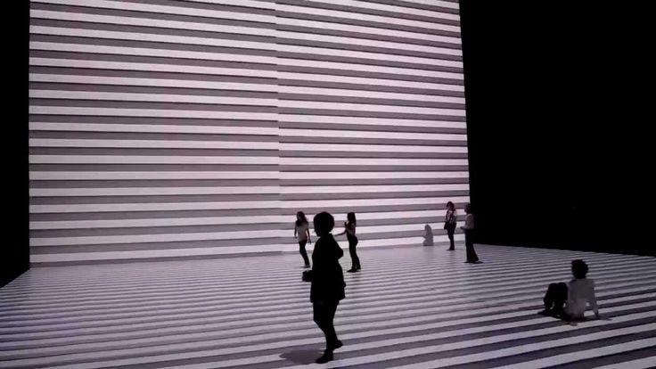 RYOJI IKEDA : THE TRANSFINITE when light and sound synchronize; pretty trippy
