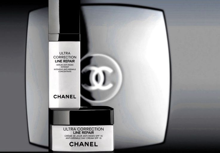 CHANEL SERUM INTENSIVE CONCENTRATE and LINE REPAIR ANTI-WRINKLE DAY CREAM SPF 15