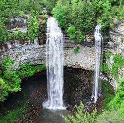Fall Creek Falls, Pikeville Tennesee.  Spent many summers at my grandparents place just down the road from this park