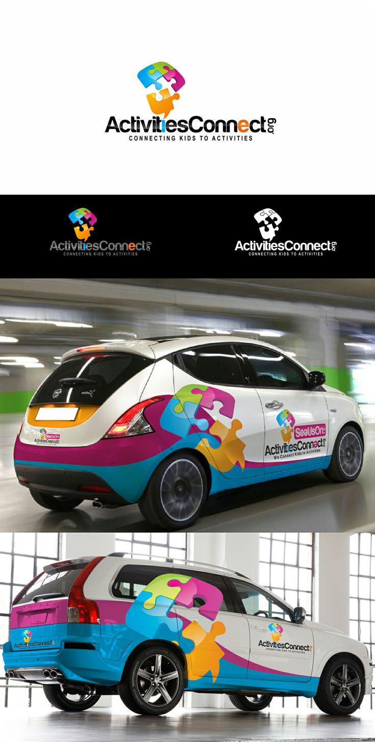 Logo Design Car Wrap Branding Mock Up Places To Visit