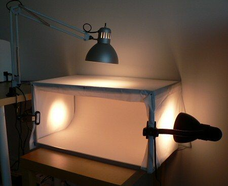 light tent for better product photography