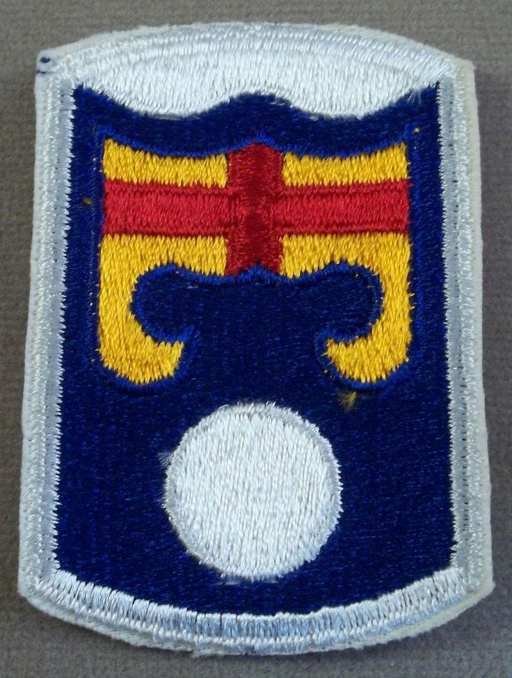 US Army - 92nd Infantry Brigade Cut Edge, NOS 1966   eBay