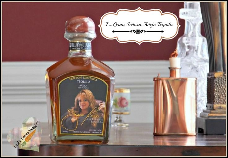 Jenni Rivera Limited Edition La Gran Señora Añejo Tequila  (sponsored) - La Gran Señora Añejo Tequila is crafted from 100% Agave & aged to perfection in American oak barrels for 18 months.