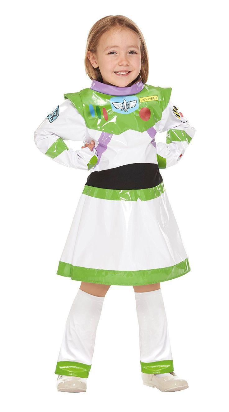 Amazon | ディズニーピクサー トイ・ストーリー バズライトイヤー ガール キッズコスチューム 女の子 100cm-120cm 95651S…