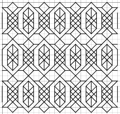 683 best Cross Stitch - Blackwork images on Pinterest Blackwork - cross stitch graph paper
