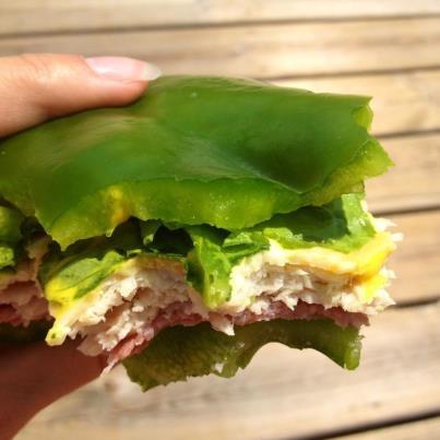 ... Sandwiches, Green Peppers, Healthy Food, Healthy Ideas, Sandwich Ideas