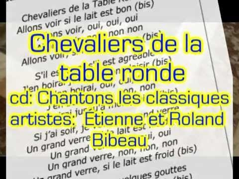 88 best french songs and videos images on pinterest - Les chevaliers de la table ronde lyrics ...
