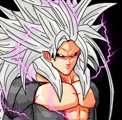 MUGEN AF menu Goku SS5 by pgv