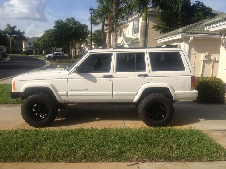 """White Jeep Wagoneer >> 3.5"""" OME with 31's - XJ Lift/Tire Setup thread - Page 33 - Jeep Cherokee Forum 