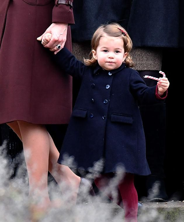 Prince George's Xmas outing too cute for words - Yahoo7