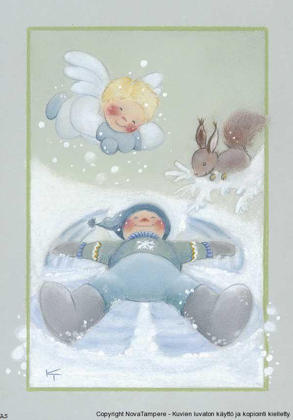 Добрые иллюстрации Kaarina Toivanen