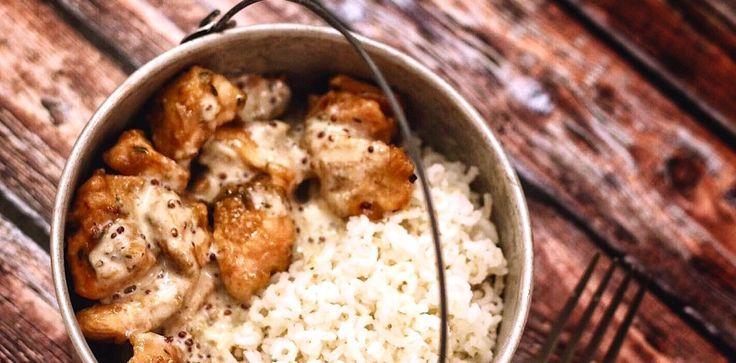 Schiscetta – Pollo alla senape e passito