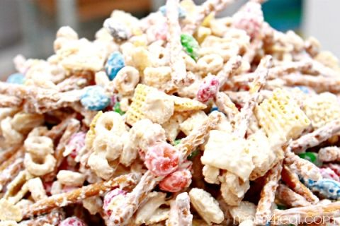 White Chocolate Chex Mix Recipe