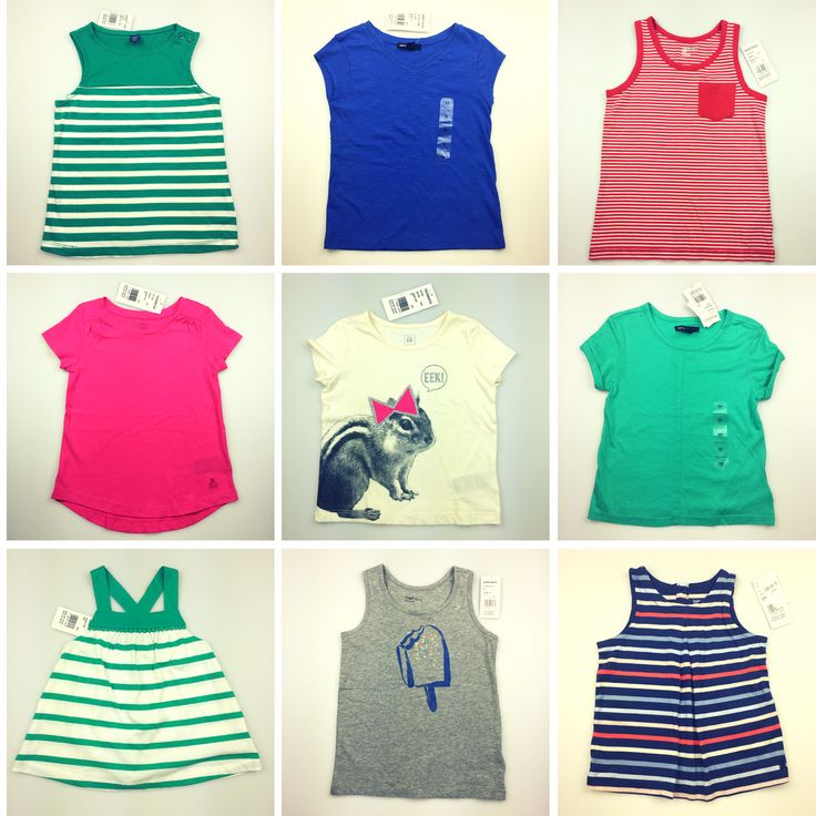 We love the quality and variety of GAP tees & tops. And right now, they're great value too! Currently, Daisy Chain Clothing has 100+ brand new GAP Kids & Baby GAP t-shirts & tops, plus other great Gap clothing items in pre-loved condition.  Get in before it's gone!