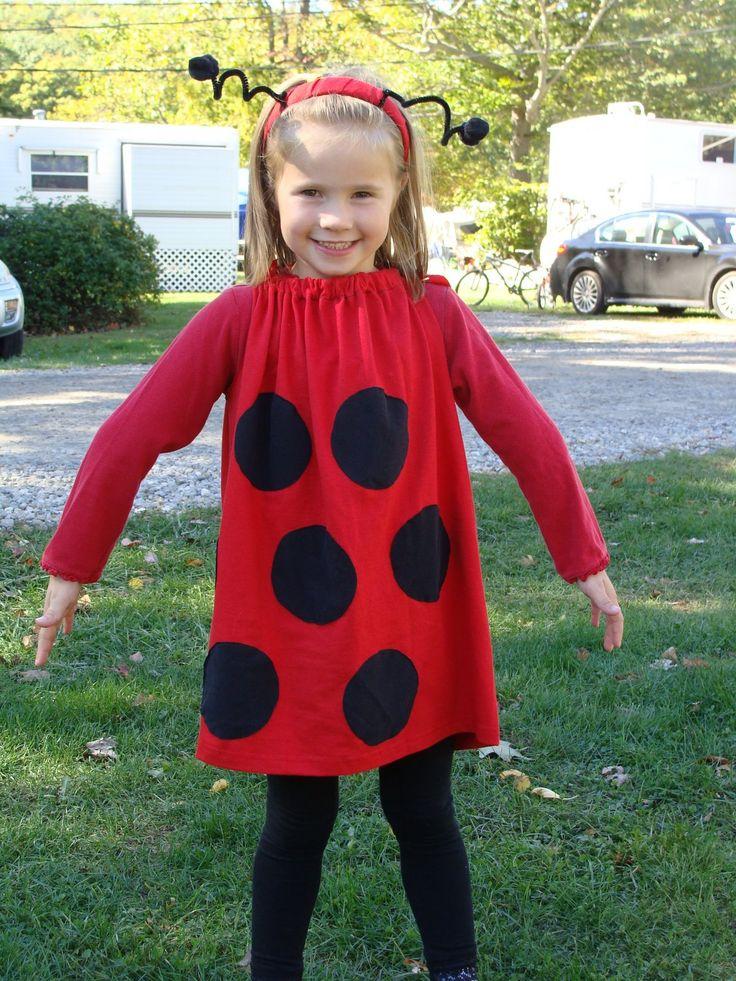 homemade ladybug costume Google Search Diy halloween