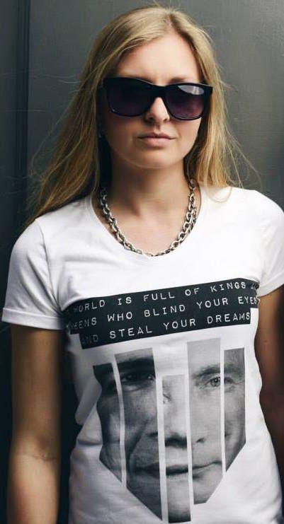 PROPAGANDA TEE !  #fashion #tshirt #white #dope #girl #model #streetstyle #abideless #style #IamABIDELESS  get yours at : www.abideless.com price : 39 €