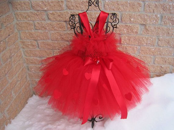 Tutu Dress BE MY VALENTINE Bit of Fluff Stretchy by ElsaSieron, $40.00