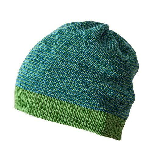 KoKoBello - barnkläder, leksaker & bärsjalar - Grön mössa / beanie i ekologisk ull från Disana - Green