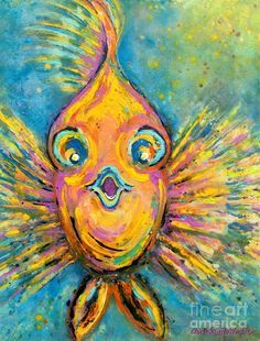 fish paintings abstract - Google Search