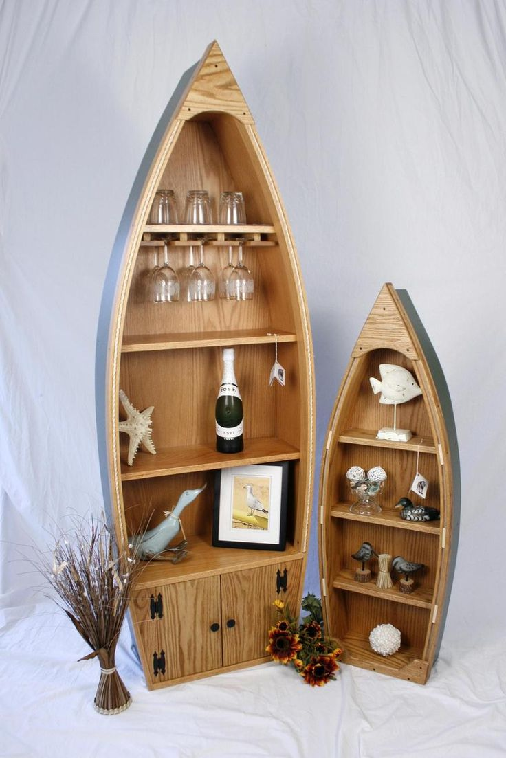 I want a canoe to use as a bookshelf :D