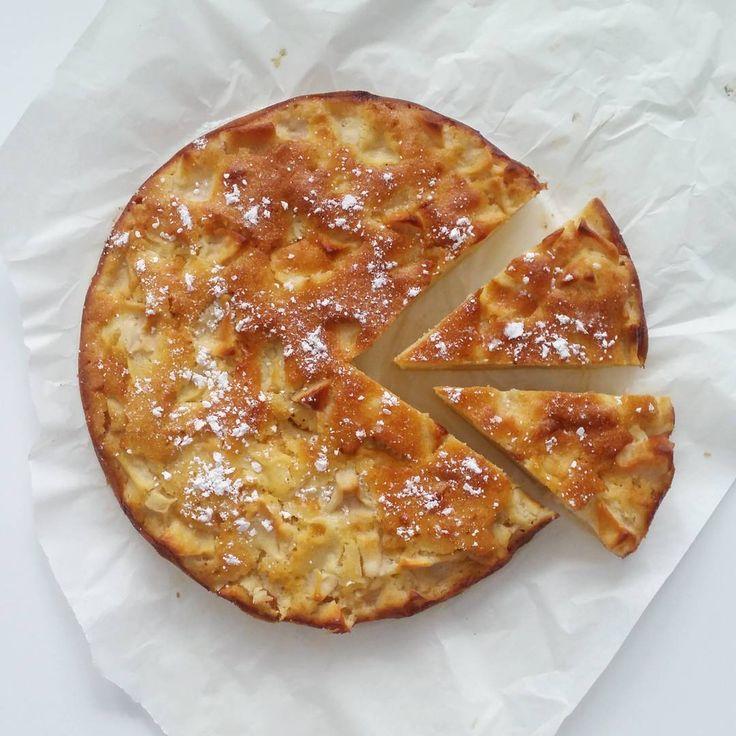 domowe najlepsze!  #bezglutenu #bezglutenowe #francuskie #ciasto #jablka #makaryzowa #slodkosci #owoce #sezonowe  #french #apple #pie #glutenfree #riceflour #applepie #dessert #sweets #sweetbreak #pieceofhappiness #cheatday #homemade #homemadecake #cake #fruit #seasonalfruit #ripdiet