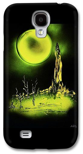 Land Of Rituals Galaxy S4 Case Printed with Fine Art spray painting image Land Of Rituals by Nandor Molnar (When you visit the Shop, change the orientation, background color and image size as you wish)