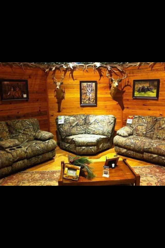 Reclining Sofa Camo living room furniture Love this for a basement