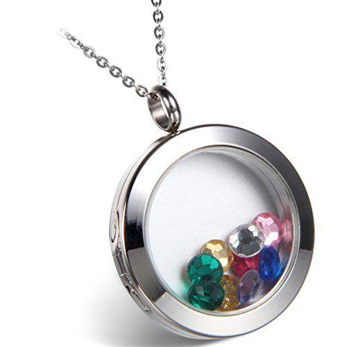 Flongo Edelstahl Glas Anhänger Halskette Silber Runde öff... https://www.amazon.de/dp/B015GXZSIO/ref=cm_sw_r_pi_dp_x_71skyb8BHR8Y3