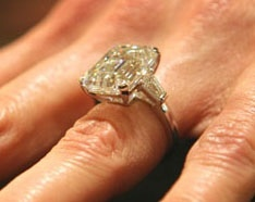 Melanie Trump engagement ring