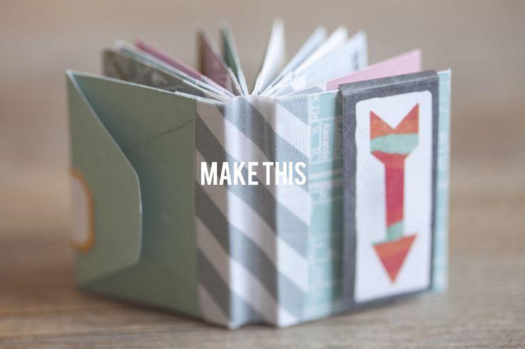 Adorable mini made from Studio Calico Abroad mini envelopes and fabrips (Tina Aszmus)
