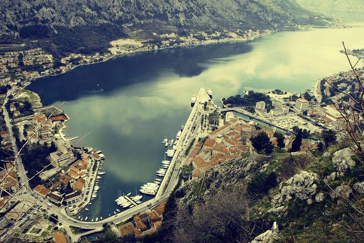 Coastial town of Kotor, Montenegro