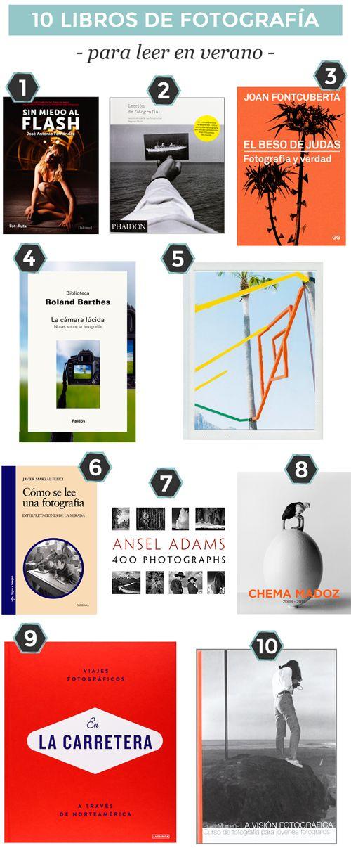 10 libros de fotografía para leer en verano