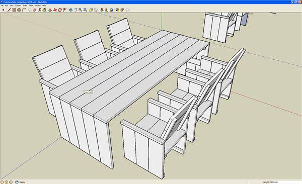 Steigerhout bouwtekening