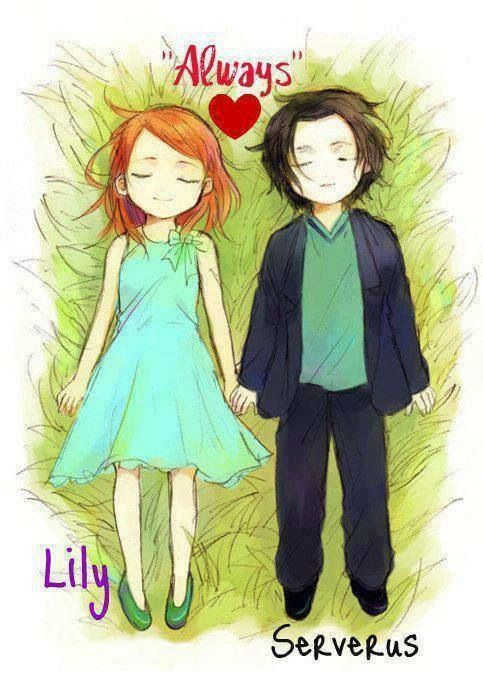 Snape and Lily #kids,  lily