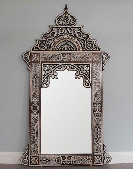 Espejo diseño arabe                                                                                                                                                                                 Más