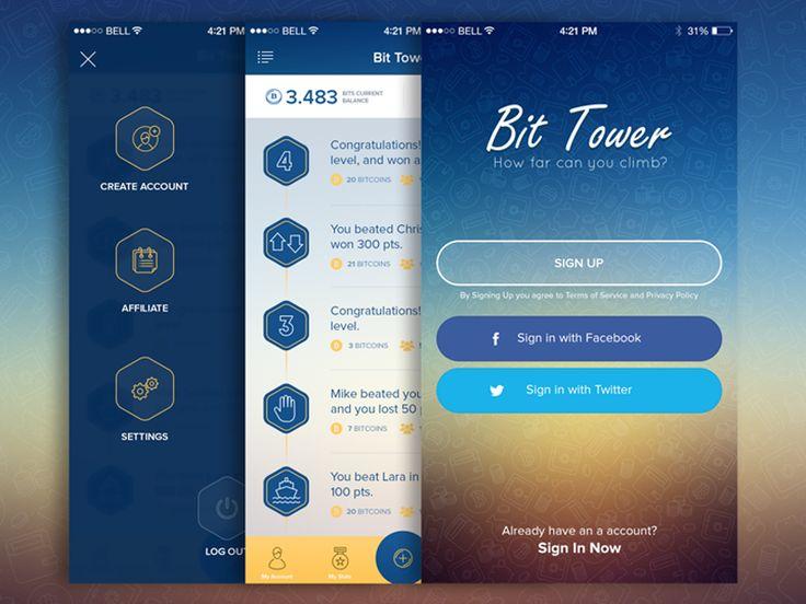 Bit Tower App by Milos Surla