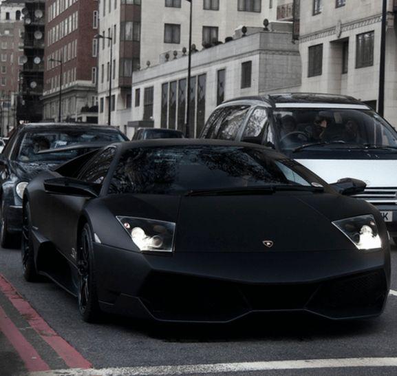 Dream Cars Lamborghini Matte Black 17 – oOF